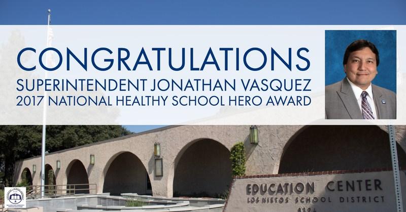2017 National Healthy School Hero Award Featured Photo