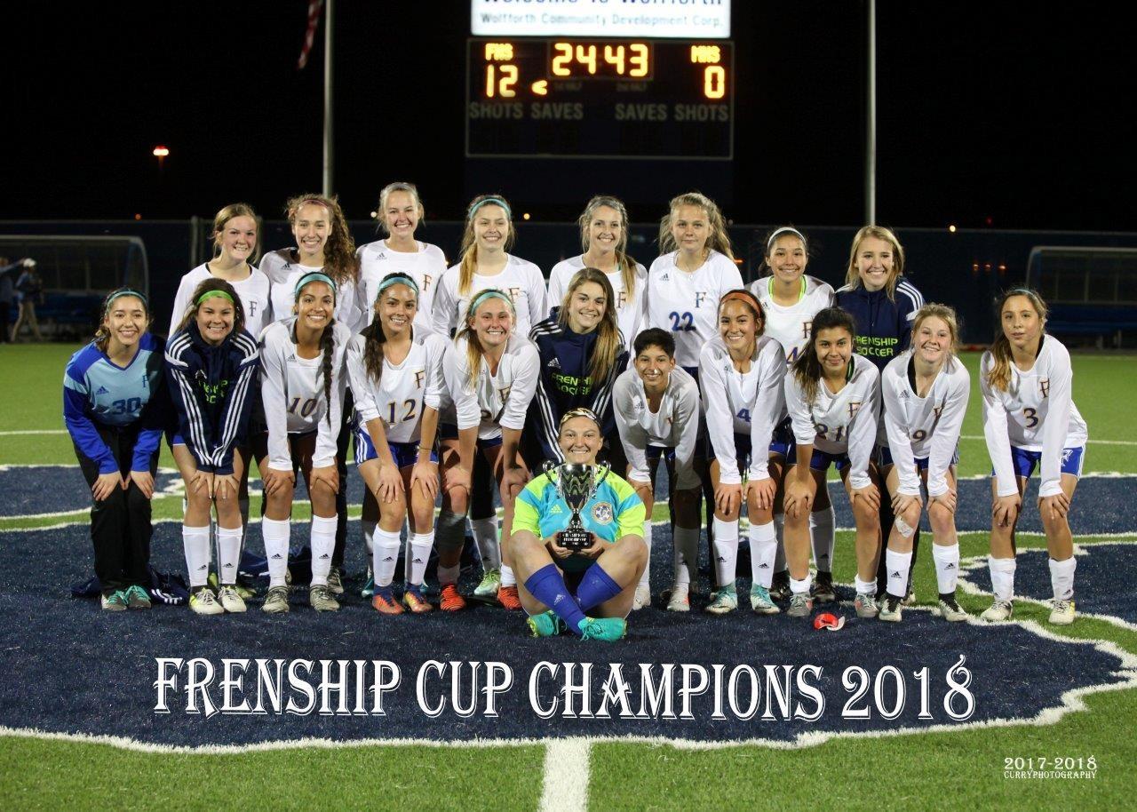 Frenship Girls Soccer 2018