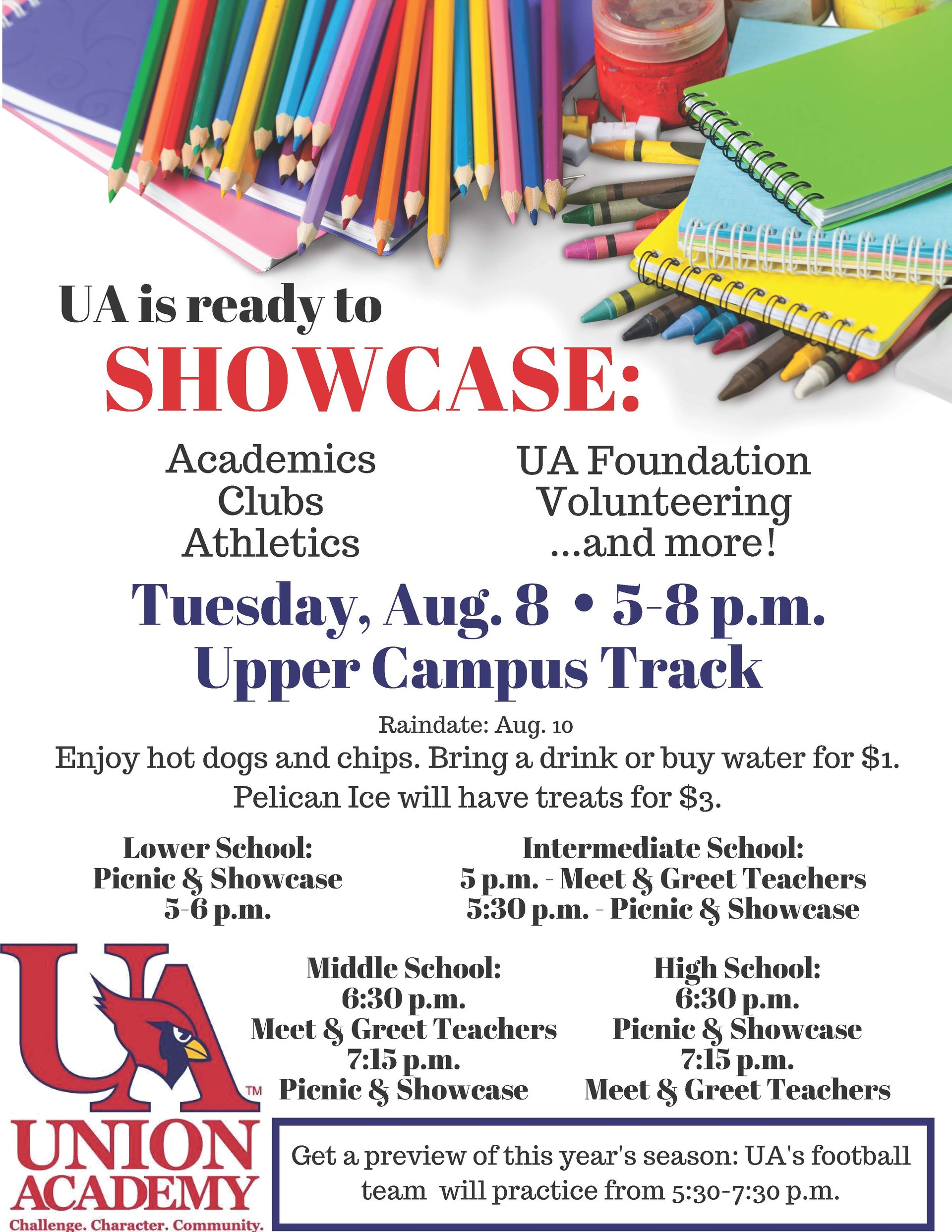 UA Showcase 2017