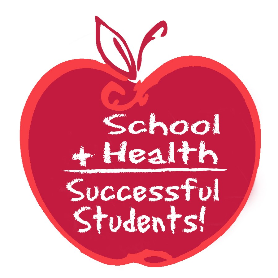 School plus health equals successful students logo