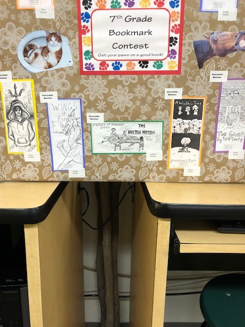 Honorable Mention winners of Bookmark Contest