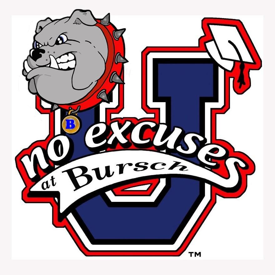 No Excuses Bursch Logo