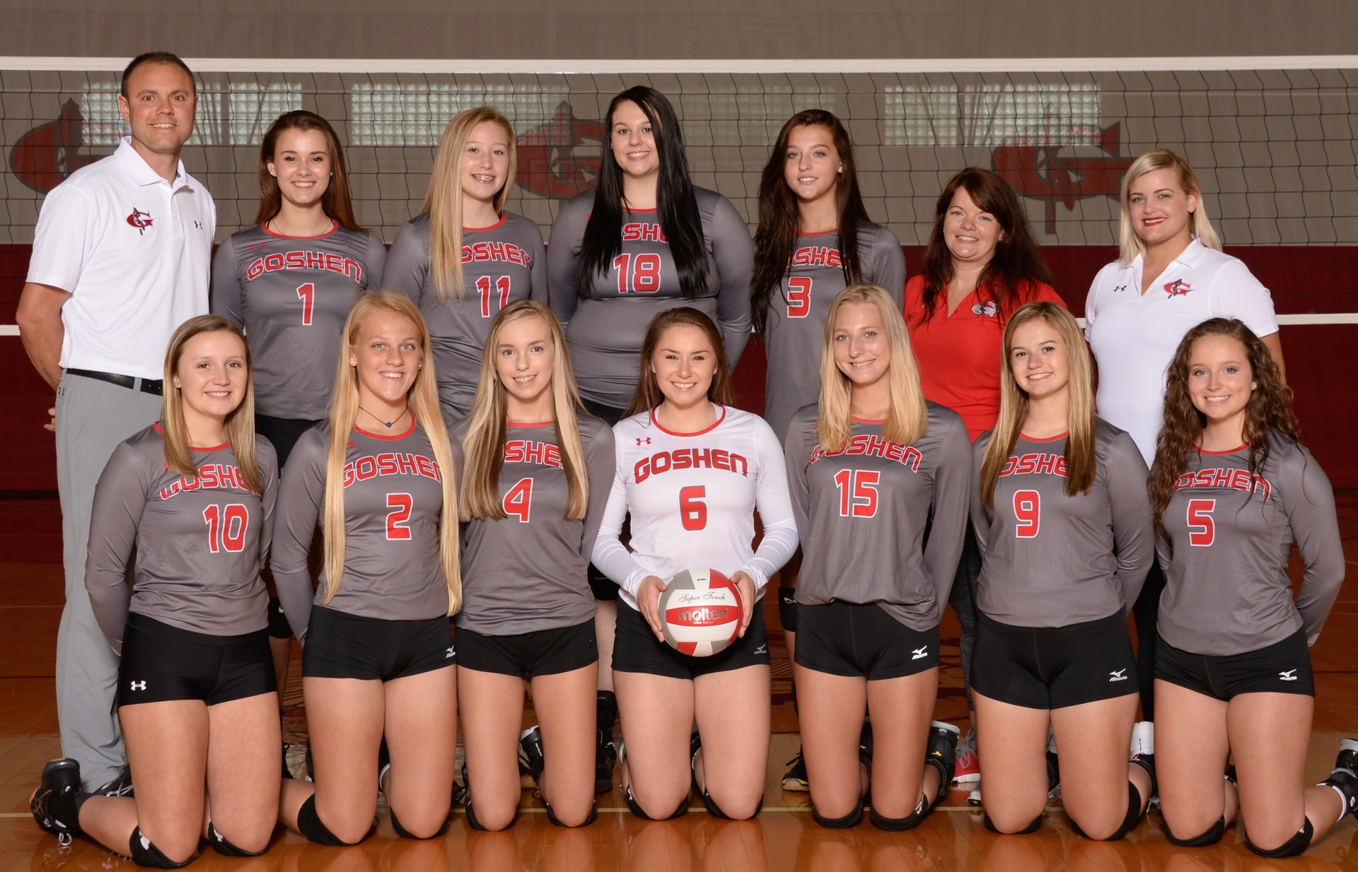 Warrior Varsity Volleyball 2017-18