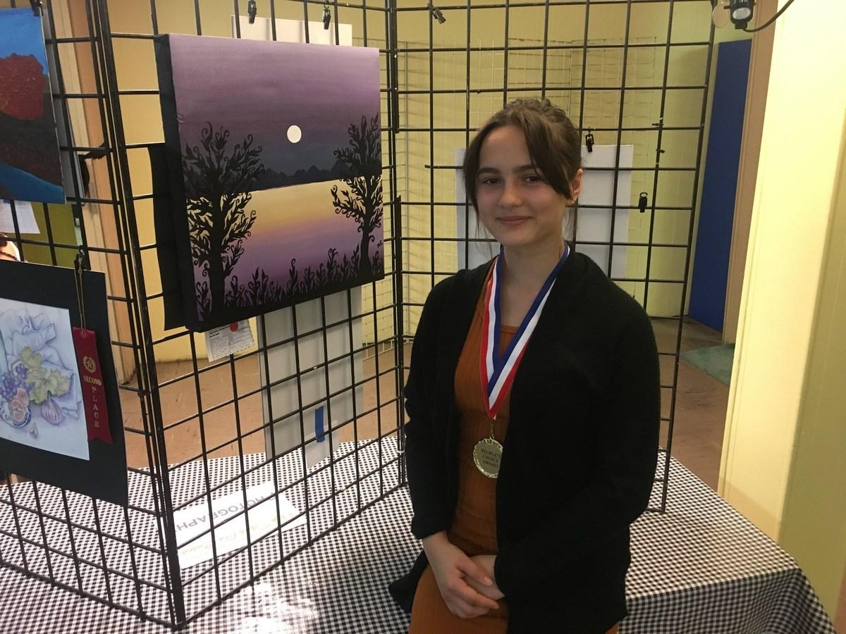 17-18 Harmony Art Show- Frontier High School- C.Nalbach/M.Clavesilla