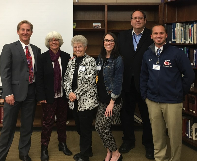 Western Association of Schools and Colleges group at Branham High School