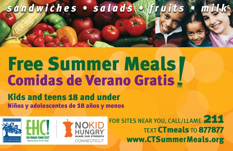 Free Summer Meals Available for all Kids 18 and Under! Thumbnail Image