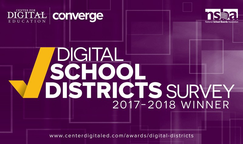 Winner of the 2017-18 Digital School Districts Survey Awards Featured Photo