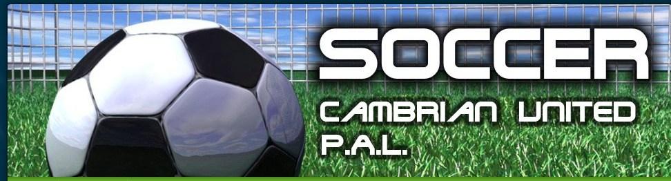 PAL Soccer flyer