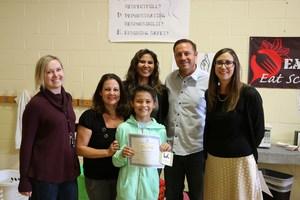 Nathan Mosher receives Bravo! Junior award.