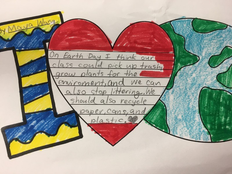 Collegewood 2nd graders celebrate Earth Day Featured Photo