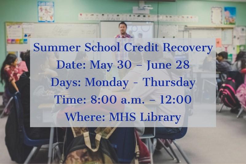 Summer School_MJSHS