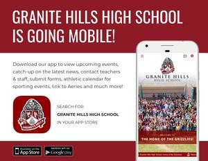 Granite Hills App Flyer