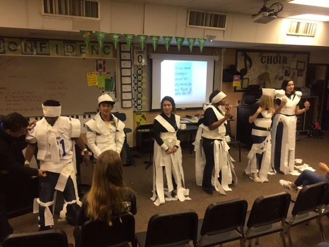 Toilet Paper uniforms