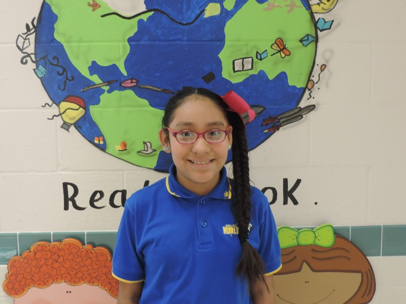 Lucas Elementary Recognizes Tiger Star Reader #5! Thumbnail Image