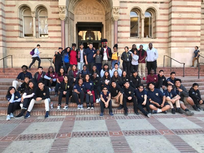 Black Student Union Visits UCLA Thumbnail Image
