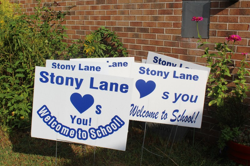 Stony Lane Fairy Welcome Signs!