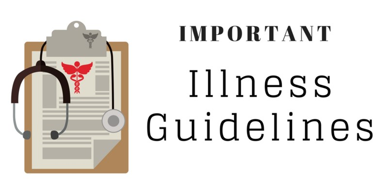 IMPORTANT Illness Guidelines Featured Photo