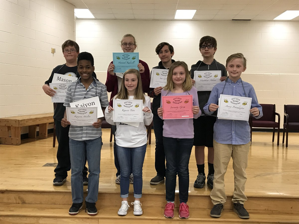Mount Airy Middle School Spelling Bee