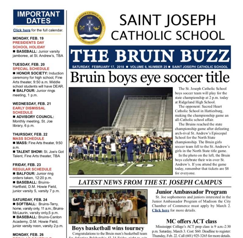 The Bruin Buzz: Saturday, Feb. 17, 2018 Thumbnail Image