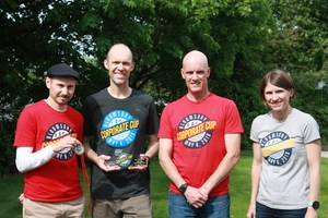 WVSD Employees who won the Corporate Cup