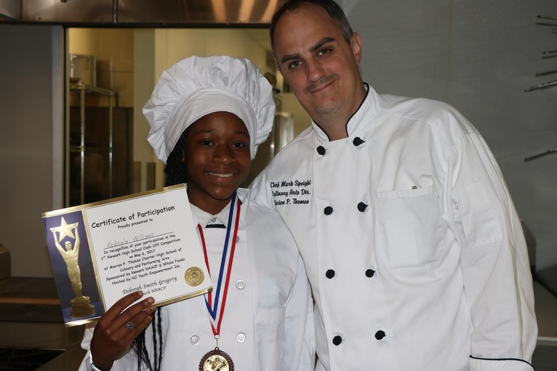 Congratulations to our award-winning culinary scholar! Thumbnail Image