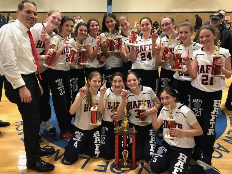 8th Grade Girls Become Basketball Champions Featured Photo