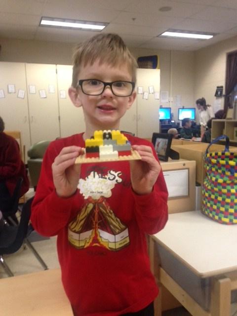 Lego creation.