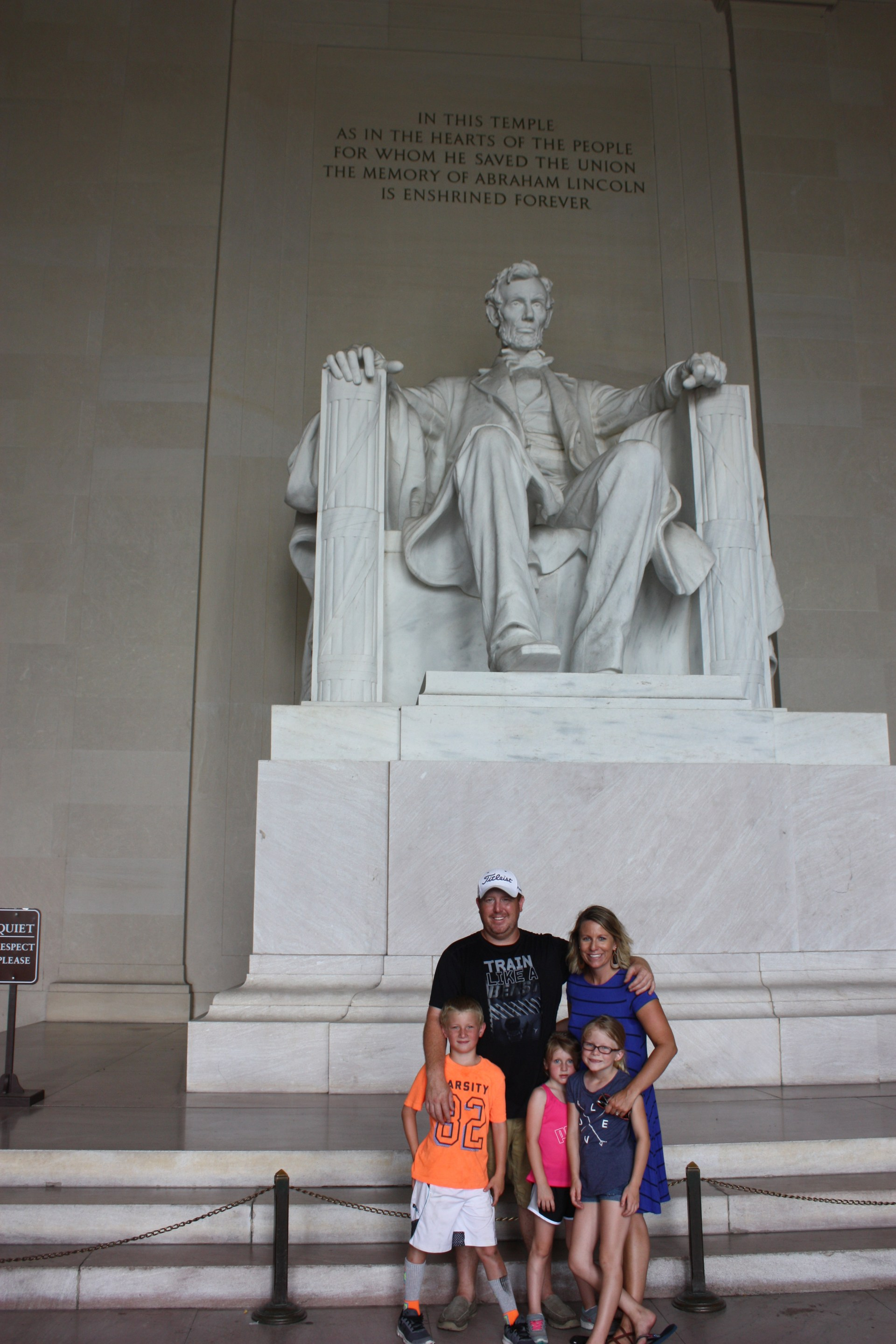 Family Visit to D.C.