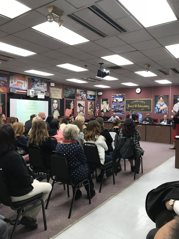 School Board Meeting 1