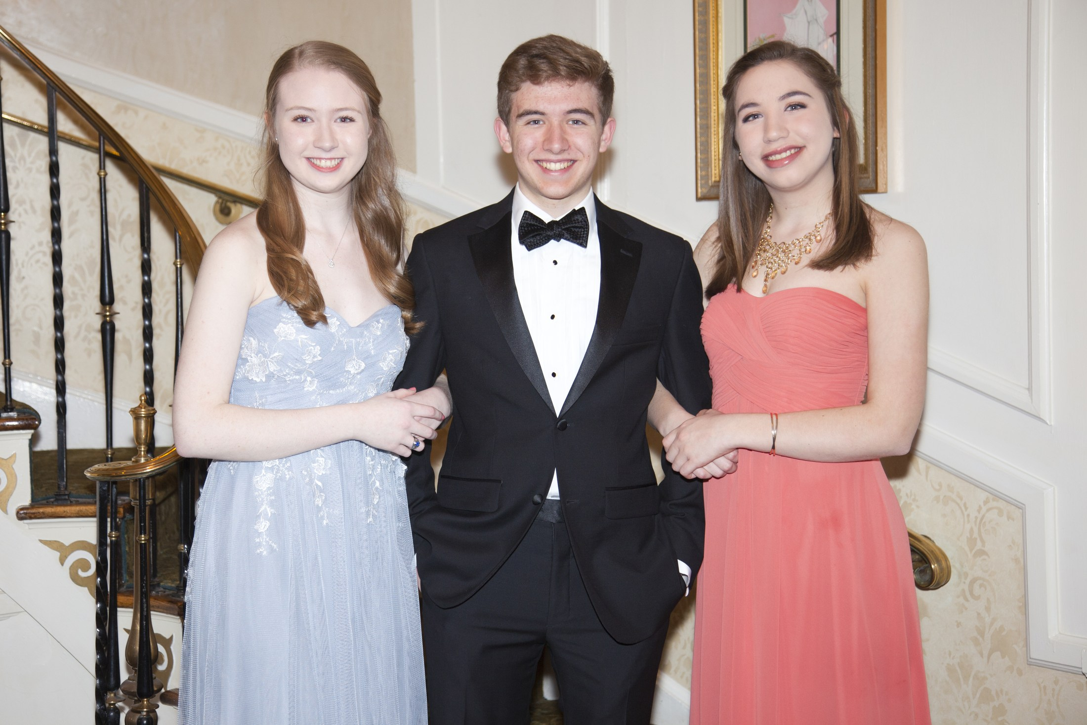 Catholic High School Students Ready For Prom Night In Morristown, NJ Image - Academy of St. Elizabeth
