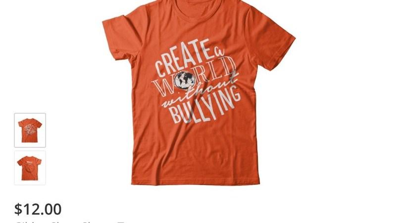 Anti Bullying orange shirt