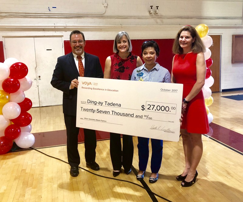 Hawthorne Teacher Wins First Place and $27,000 for Innovative Teaching Project Thumbnail Image