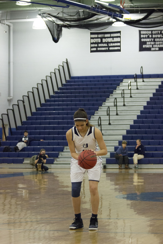 dribbling ball