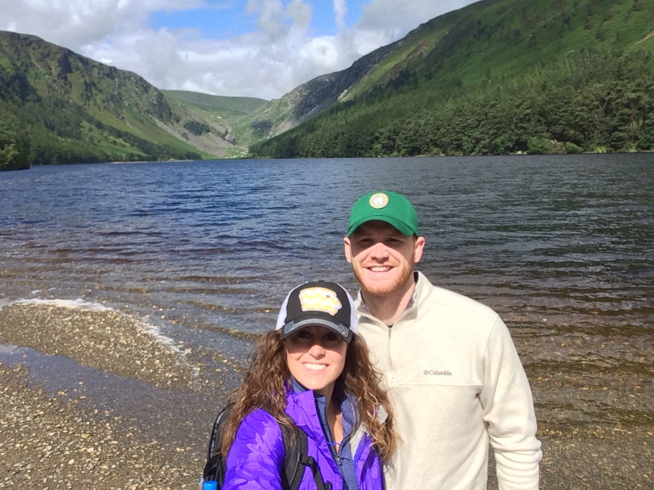 My husband and I at Glendalough in Ireland 2016.