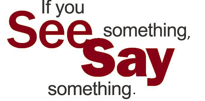 See Something, Say Something Thumbnail Image