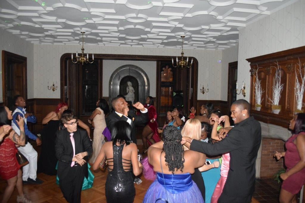 Students dance at Invictus High School prom