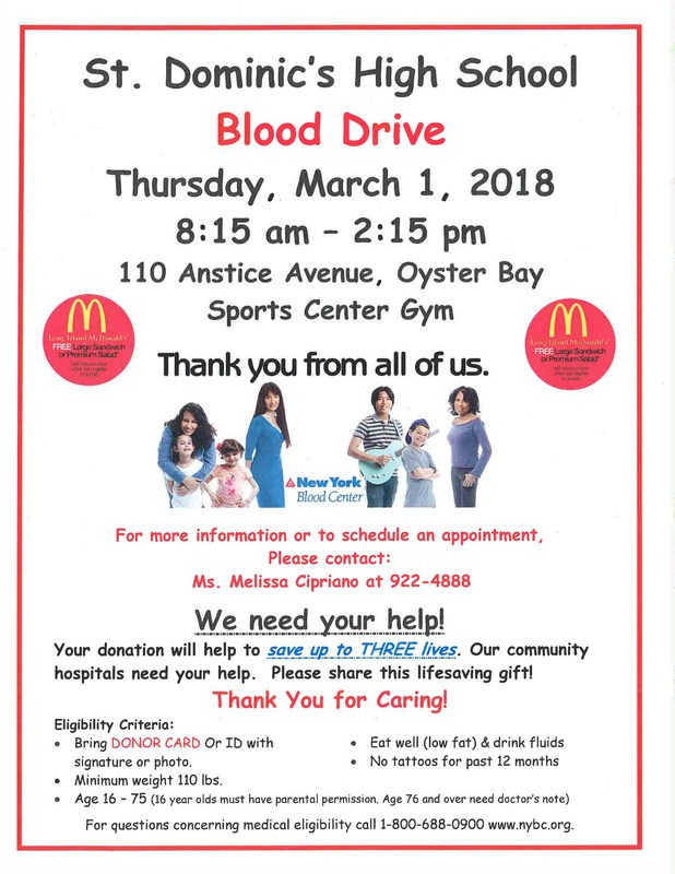 Blood Drive On Thursday, March 1st Featured Photo