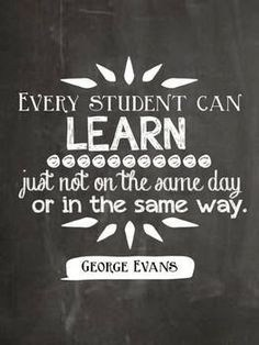 Students don't learn the same way