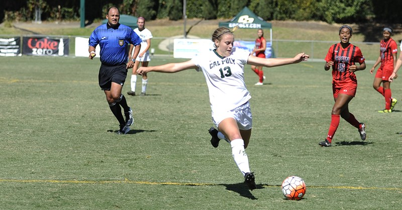 Alumna Jessica Johnson '16 making a big impact at Cal Poly! Thumbnail Image