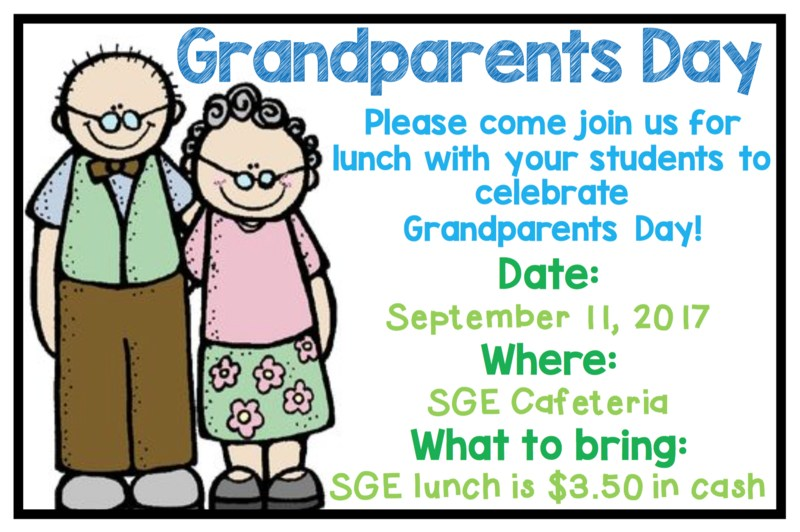 Grandparents Day Lunch Thumbnail Image