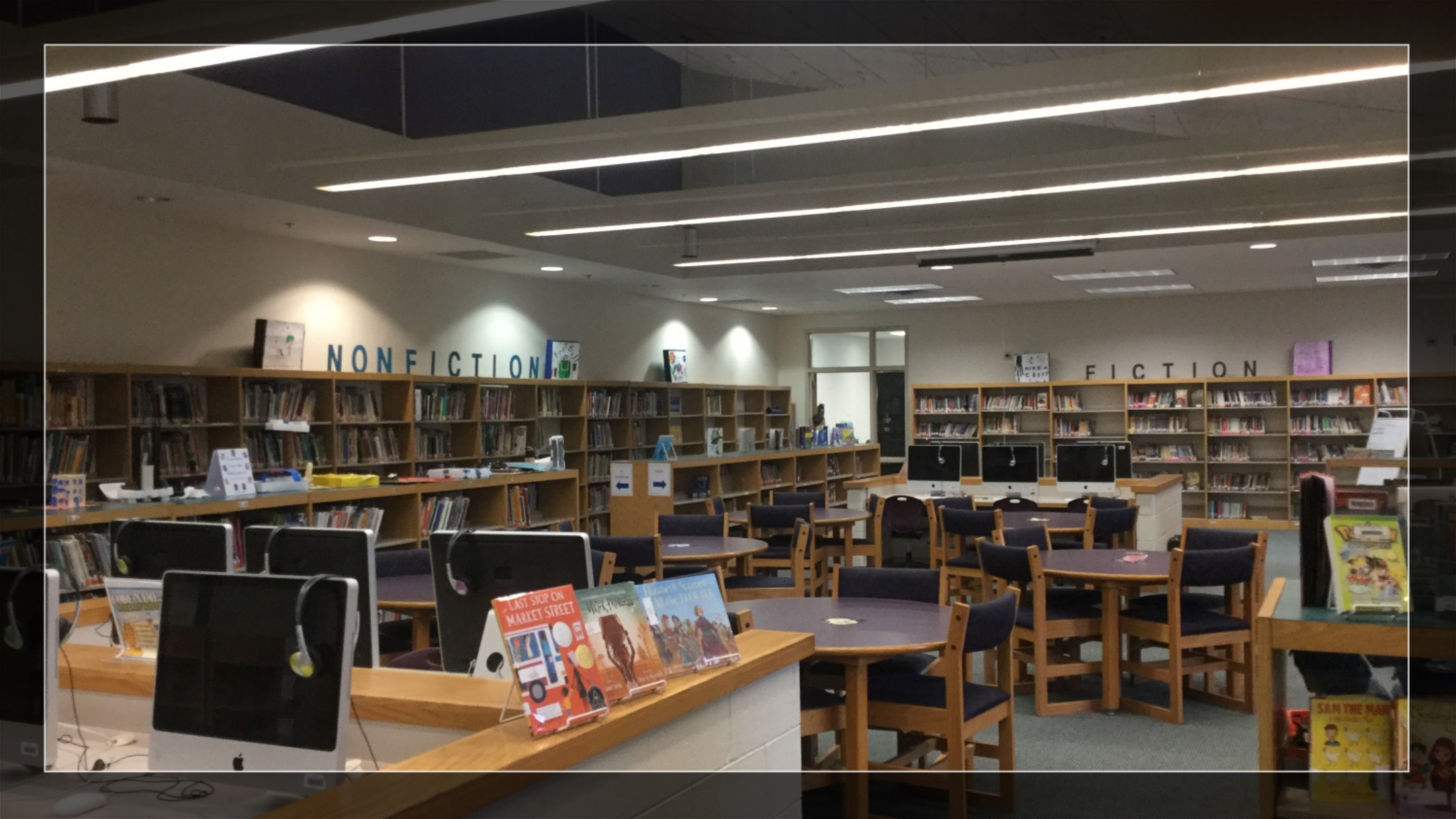 Image of the Media Center at WES.