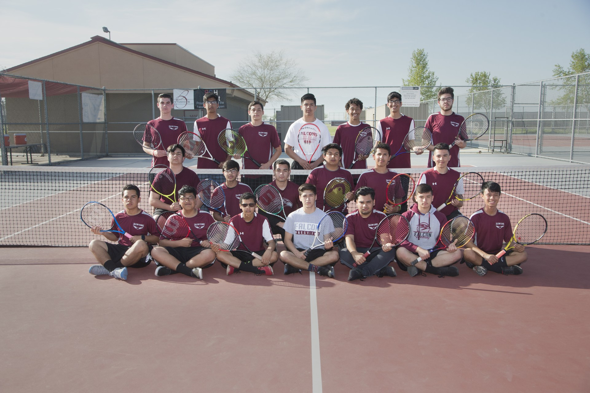 Boys JV Tennis 2017