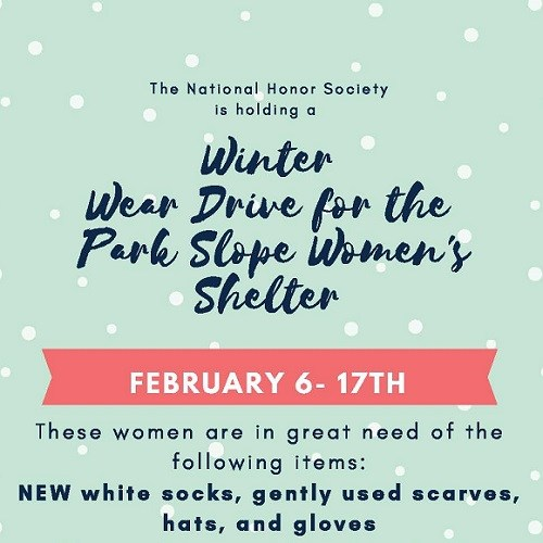 Women's Sock and Winter Wear Drive Thumbnail Image