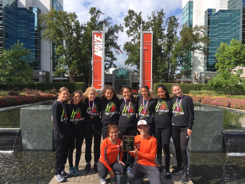 Cross Country Team Takes 2nd Place at Nike Portland XC! Thumbnail Image