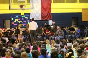 CHS Band performs at CES