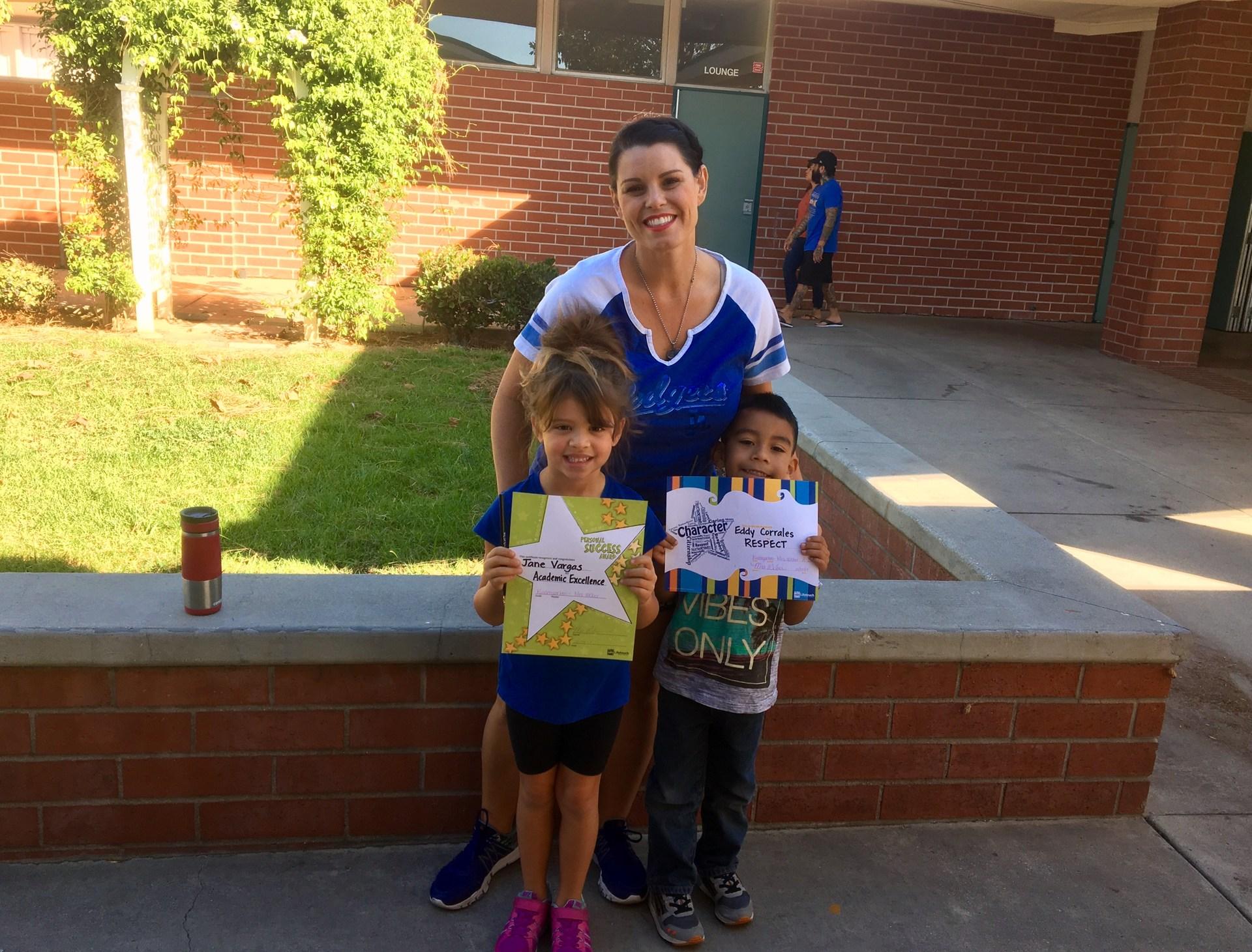 Mrs. Weber's October Honorees