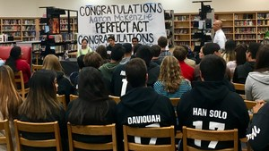 Stockdale High School students honored for academic excellence.