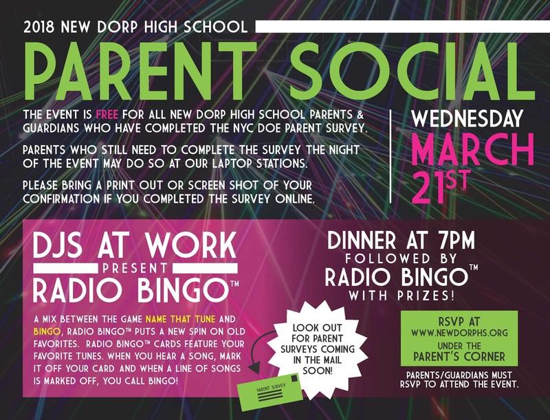 parent social flyer