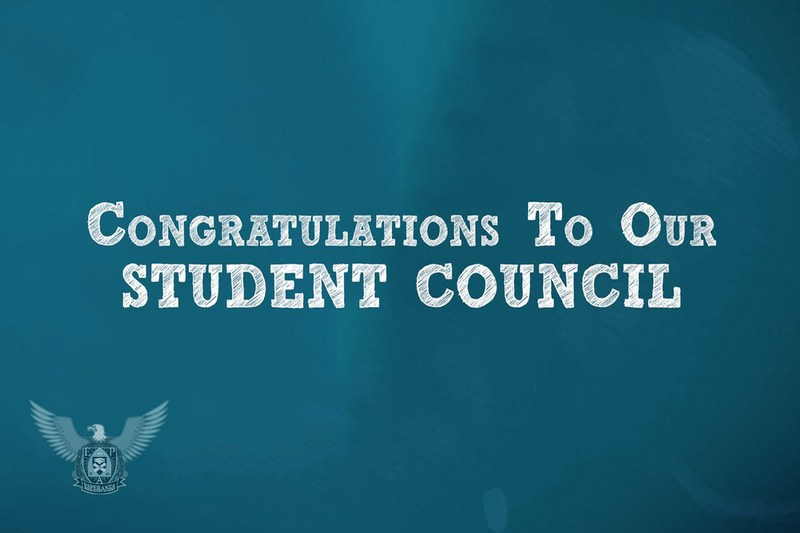 Congratulations to the student council