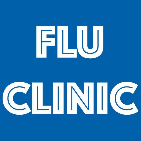 flu clinic logo